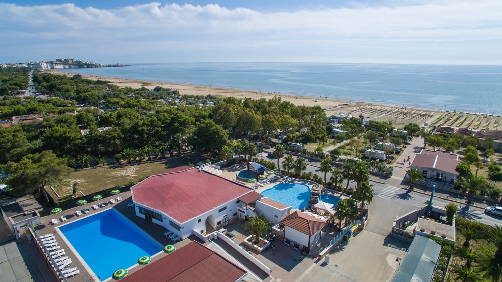 Campsite of the village Verdemare in vieste in gargano